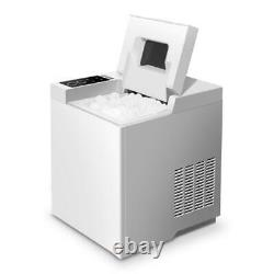Ice Maker Fully Automatic Commercial Household Small Milk Tea 33Ib/15kg