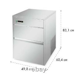 Ice Maker Machine Cube tray Industrial Commercial Stainless Steel 380W 50 kg/day