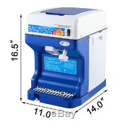 Ice Shaver Crusher Snow Cone Maker Machine Frozen Drink Commercial Drip Tray
