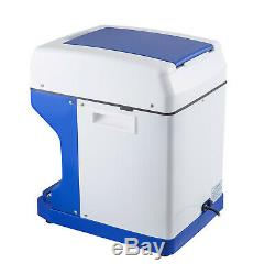 Ice Shaver Crusher Snow Cone Maker Machine PC Paddles Commercial Drip Tray