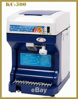 KCICL Commercial automatic electric Ice crusher, shaver, slush & snow ice maker