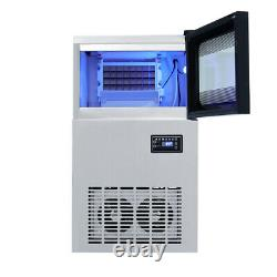 Kitchen Electric Ices Cubes Making Machine Commercial Ice Maker Touch Control