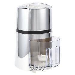 Manual Ice Crusher Commercial Household Portable Shaved Ice Crusher With Blade