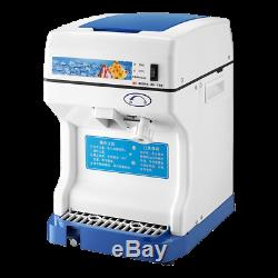 NEW 220V Commercial Electric Ice Crusher Ice Shaver Snow Cone Machine Ice Maker