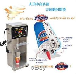 New Commercial Electric Auto Blizzard Ice Cream Machine Maker Shaker Blender Mix