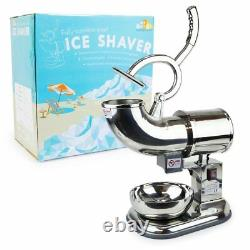 New Commercial Ice Shaver machine Shaved Icee Maker Sno Snow Cone