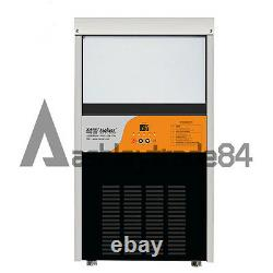 New Electric Commercial Ice Making Machine Milk Tea Ice Maker 220V Output 60KG