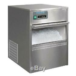 Polar Under Counter Ice Cube Maker Machine Commercial Stainless Steel