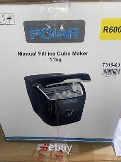 Polar Under Counter Ice Maker 10kg Output Commercial Ice Machine Brand New