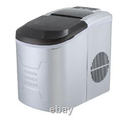 Portable Electric Ice Maker Machine Cube/Bullet Commercial/Home Kitchen Counter