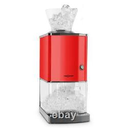 REFURB. Ice Cube Machine Commercial Crusher Stainless Steel 15kg/h Bar Red 3.5L