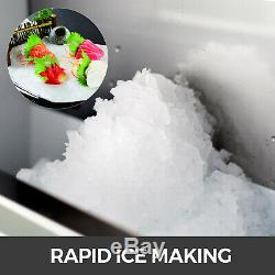 Snow Flake Ice Machine Flake Ice Maker 132LB/24H Shave Ice Machines Commercial