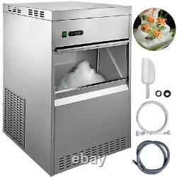 Snow Flake Ice Machine Flake Ice Maker 154LB/24H Shave Ice Machines Commercial