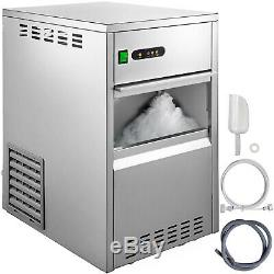 Snow Flake Ice Machine Flake Ice Maker 55LB/24H Shave Ice Machines Commercial