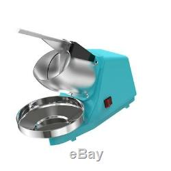 Stainless Steel Commercial Electric Snow Cone Machine Ice Shaver Crusher Maker