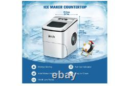 Stainless Steel Countertop Bar Cube Ice Maker Commercial Portable Auto Machine