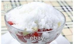 Summer Commercial Ice Shaver Ice Shaving Machine, with Hopper, Snow Cone Maker