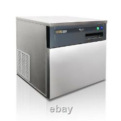 Whirlpool AGB02201G K20 Commercial Ice Maker Machine Stainless Steel